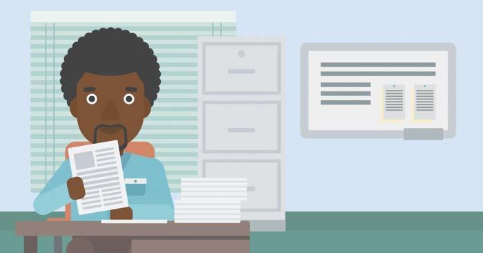 退職書類の提出