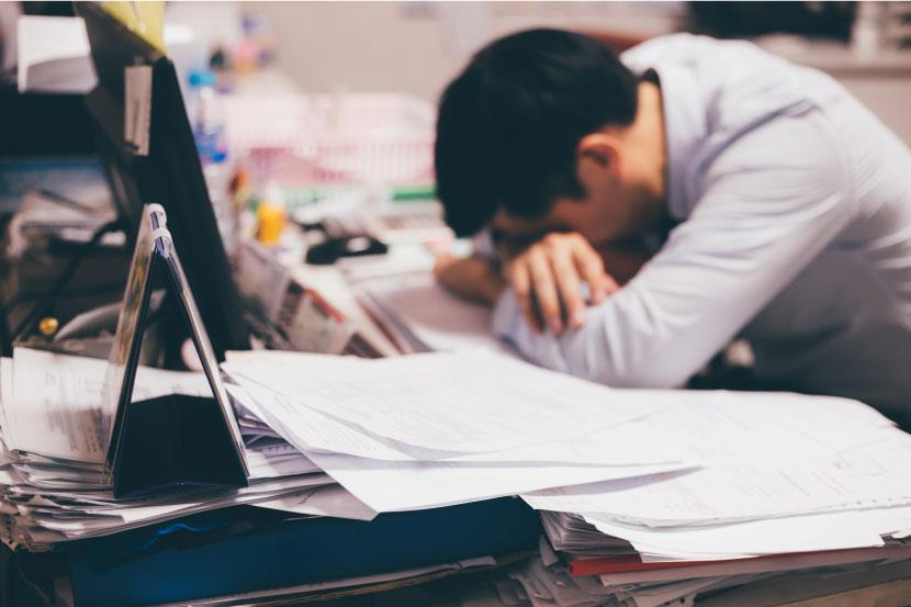 仕事が忙しすぎる