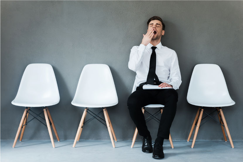 転職活動疲れの原因